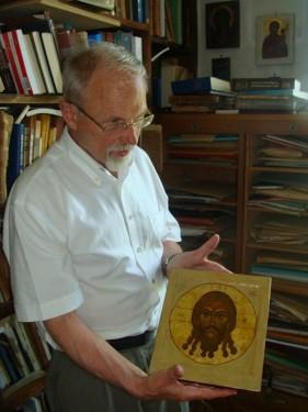 Струве с иконой Спас