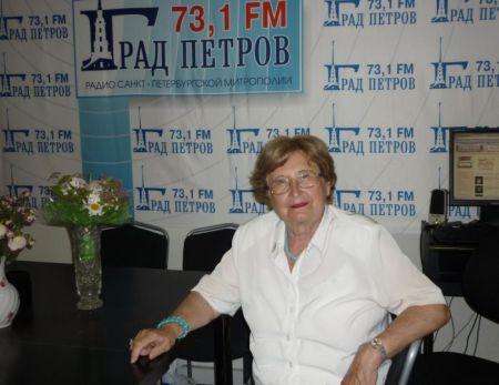 Н.Р. Ребер. Фото - М.Лобанова. 2013 г.