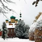 Пюхтицы_зима