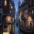 Венеция ночь 2