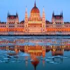 Венгрия Будапешт зима