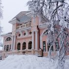 Вологда Покровское зимой