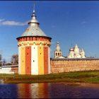 Вологда Прилуки лето река стены