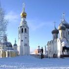 Вологда зима