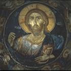 39 Фреска Лесновского Монастыря. . Македония 1347