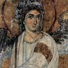 40а Белый ангел  XII в монастырь Милешева Сербия