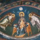 41 Богоматерь с Эммануилом  Сербия Печ XIV в