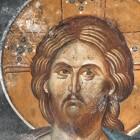 41 Спаситель Фрески храма св. Апостолов XIV в Сербия  Печь