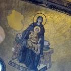 7 Богородица в конхе апсиды св_Софии_Константинополь IX в