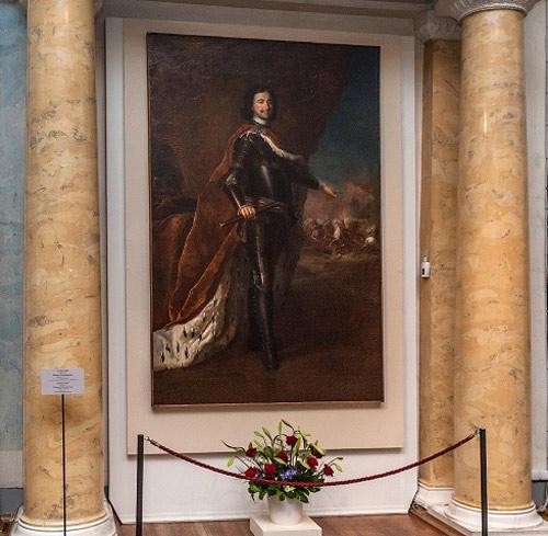 Антуан Пэн Портрет Петра I в Аполлоновом зале