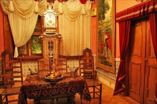 Зимний дворец Петра I. Столовая