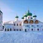 Александро-Свирский зима