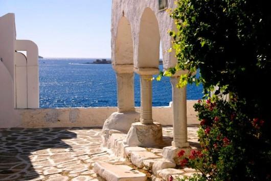 Греция_море и портик