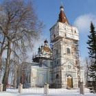 Ильеши храм св. Николая зима