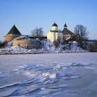 Старая Ладога зима 2