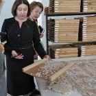 Руководитель Центра монументальной живописи Тамара Ивановна Анисимова