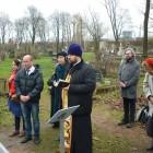 Никольское кладбище. Панихида в день 100-летия кончины протоиерея Алексия Мальцева