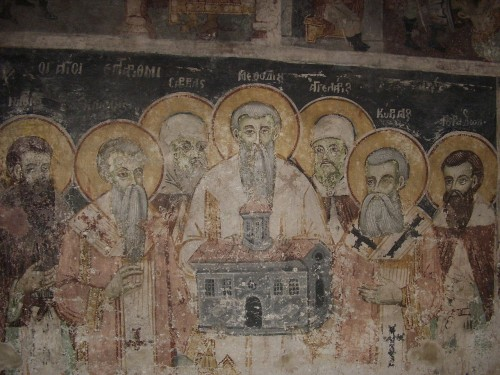 2 Кирилл и Мефодий с учениками