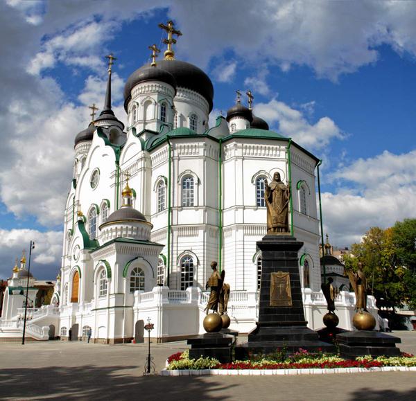 Воронежский благовещенский кафедральный собор
