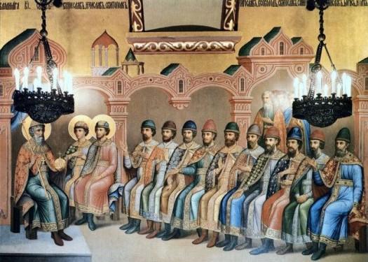 Князь Владимир и сыновья