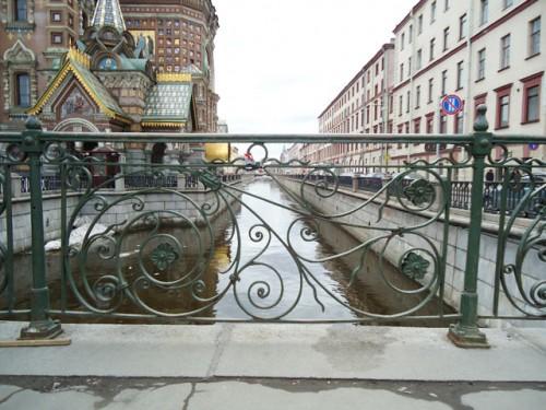 Новоконюшенный мост.Решётка