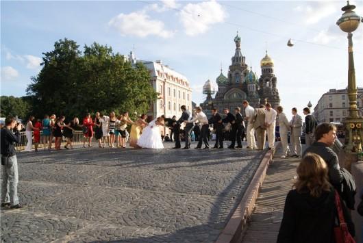 свадьба на Мало-Конюшенном мосту
