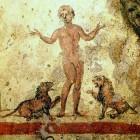 014 Даниил во рве со львами, катакомбы Петра и Марцеллина