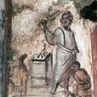017 Жертвоприношение Авраама, катакомбы на Via Latina