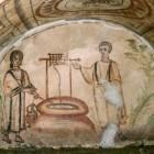 020 Христос и Самарянка, катакомбы на Via Latina