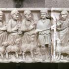 025 Саркофаг. Христос Добрый Пастырь с Апостолами