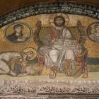 076 Св.София. Мозаика над Царскими вратами