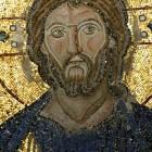 081а  Св.София, мозаика в галерее: Спаситель