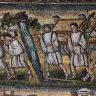 088 Санта-Мария Маджоре. Рим. V в. Ветхозаветные сюжеты. Иудеи вступают в Землю Обетованную