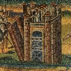 089 Санта-Мария Маджоре. Рим. V в. Ветхозаветные сюжеты. Падение стен Иерихона