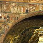 090 Санта-Мария Маджоре. Рим. V в. Мозаики триумфальной арки. История Рождества