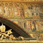 091 Санта-Мария Маджоре. Рим. V в. Мозаики триумфальной арки. История Рождества