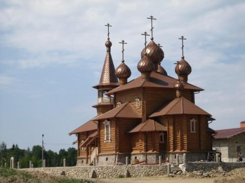храм в Сологубовке