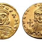 01 Монеты Лев III и Константин V