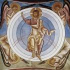 12 Христос во славе. Кипр. Церковь Богоматери Аракиотиссы в Лагудера. 1192