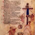 20 Хлудовская псалтирь Антоний Силейский замазывают известью икону Иисуса Христа