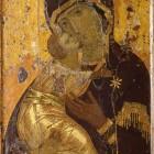 28 Владимирская икона. Византия,первая треть XII в.