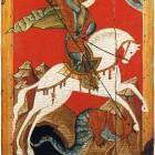 31 Георгий Победоносец, конец XIV - начало XV в. Новгород