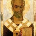 35 свт.Николай. Новгород, конец XII в.