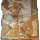 63 Георгий Победоносец, фреска Староладожской церкви XII в.