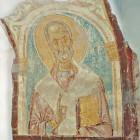 66 Святитель Николай. Фреска Староладожской церкви