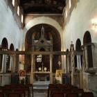 80 Алтарная преграда в раннехристианских храмах - темплон церковь Санта-Мария ин Космедин в Риме