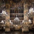 85 Многоярусный иконостас Успенского собора Кремля