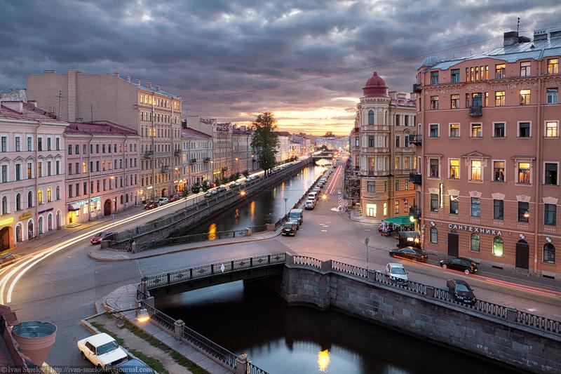 Канал Грибоедова ( Кокушкин мост )