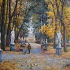 Летний сад осень 9