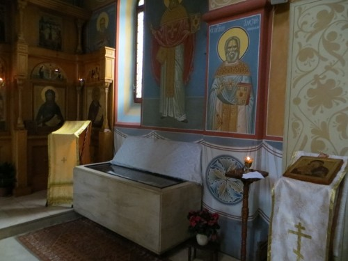 Рака-с-мощами-св.-Алексия-в-Преображенском-храме